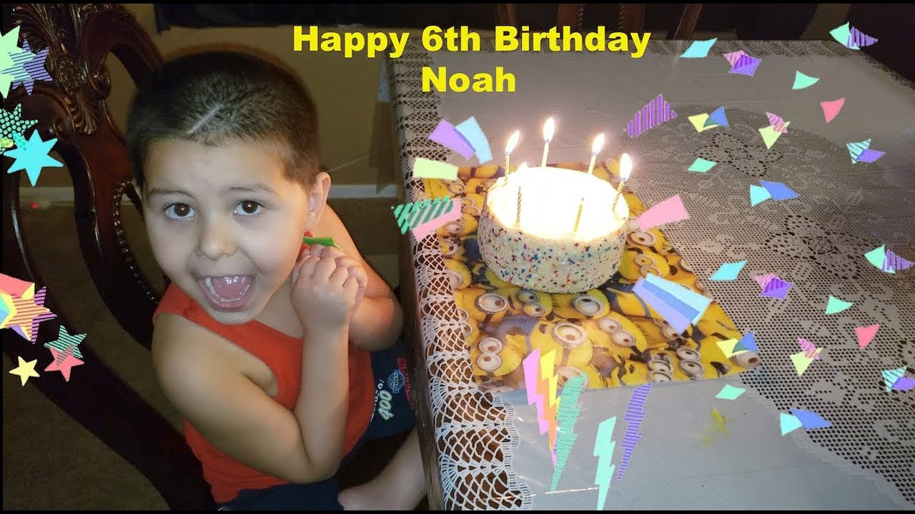 Noah's 6th Birthday