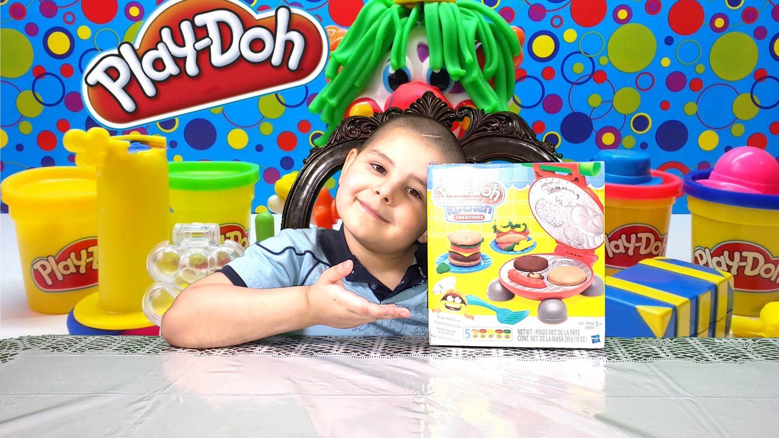 Play-Doh Kitchen Creation