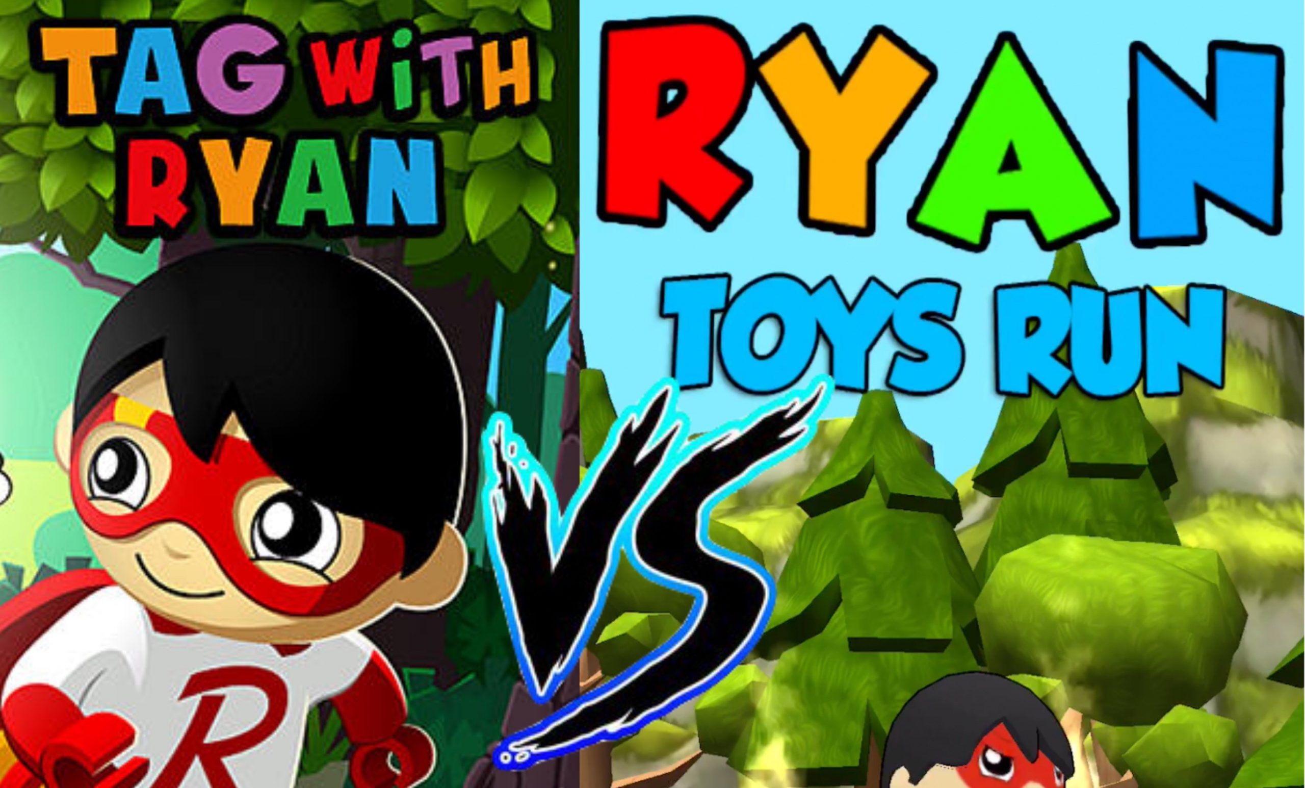Tag with Ryan Vs Ryan Toys Run