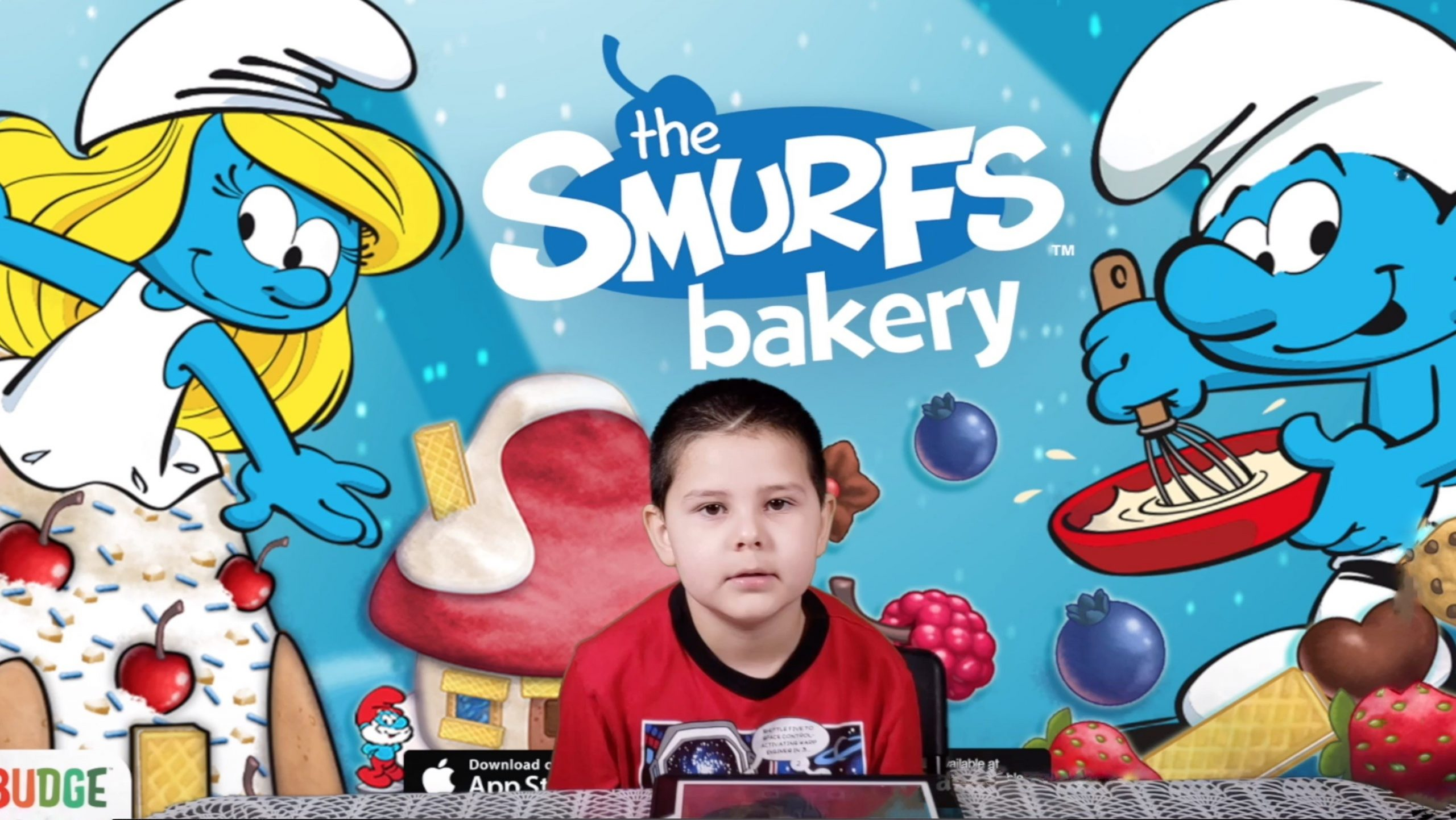 The Smurfs Bakery Dessert Maker