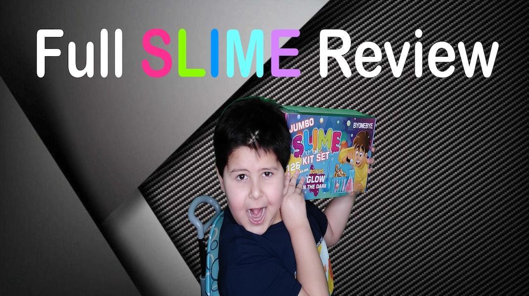 Jumbo Slime Kit