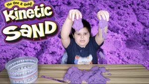 purple Kinetic Sand