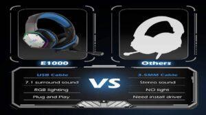 EKSA Gaming Headset